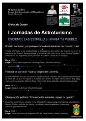Poster jornadas astronomica