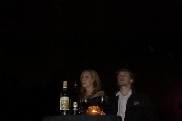 Trout Poin-vista nocturna