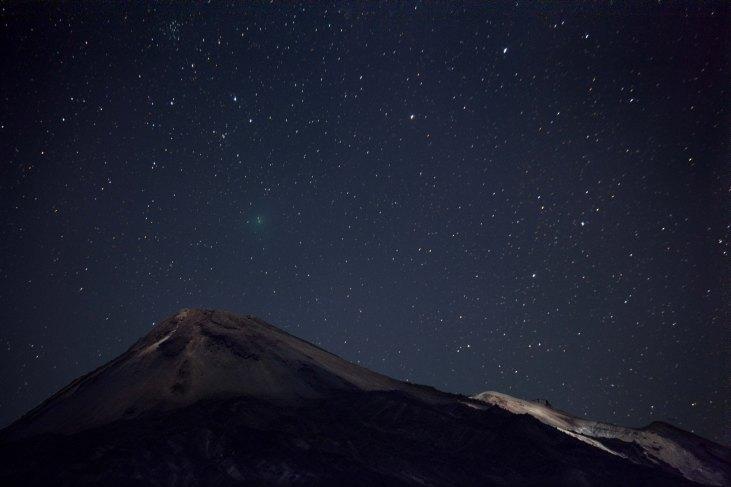 Observación de las estrellas en Tenerife-Foto cedida por Turismo de Tenerife