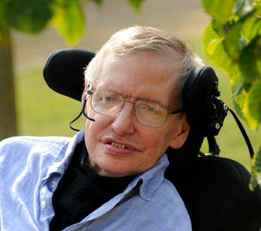 Stephen Hawking cropped photo