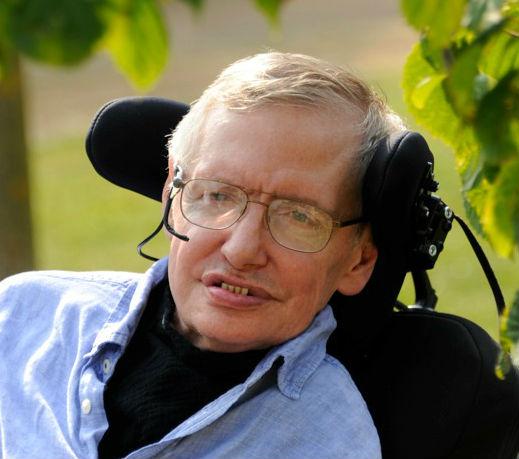 Stephen Hawking cropped photo