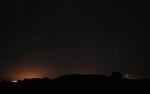 Orión, Bullas y Venus desde El Ardal (Murcia)-22/03/12-Foto de Francisco Gutiérrez