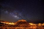 Montaña de Argodey tomada desde Chipude (La Gomera)-Foto de Alfredo Amaya
