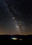 Vía Láctea sobre Hoyos del Espino (Ávila), desde La Cabizuela-22/07/14-Foto de Miguel Chamorro Valencia
