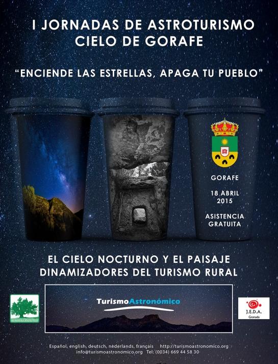 CARTEL I JORNADAS DE ASTROTURISMO
