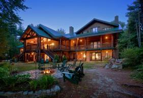 Instalaciones del Hotel Starlight Trout Point Lodge